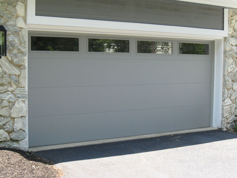 Flush Panel Garage Door Wageuzi